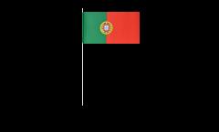 Papierfahnen Portugal - 12 x 24 cm