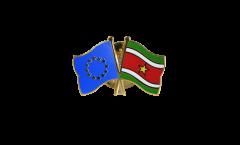 Freundschaftspin Europa - Surinam - 22 mm