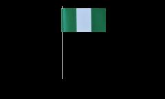 Papierfahnen Nigeria - 12 x 24 cm