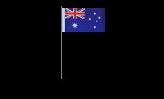 Papierfahnen Australien - 12 x 24 cm