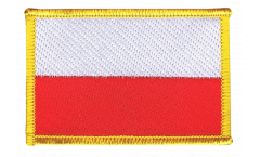 Aufnäher Polen - 8 x 6 cm