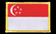 Aufnäher Singapur - 8 x 6 cm