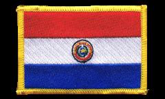 Aufnäher Paraguay - 8 x 6 cm