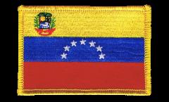 Aufnäher Venezuela 7 Sterne mit Wappen 1930-2006 - 8 x 6 cm