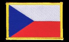 Aufnäher Tschechische Republik - 8 x 6 cm