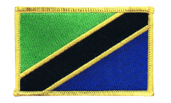 Aufnäher Tansania - 8 x 6 cm