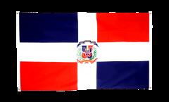 Balkonflagge Dominikanische Republik - 90 x 150 cm