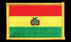 Aufnäher Bolivien - 8 x 6 cm