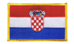 Aufnäher Kroatien - 8 x 6 cm