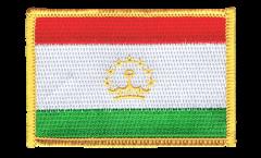 Aufnäher Tadschikistan - 8 x 6 cm