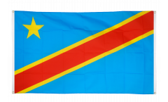Balkonflagge Demokratische Republik Kongo - 90 x 150 cm