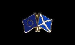 Freundschaftspin Europäische Union EU - Schottland - 22 mm