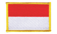 Aufnäher Monaco - 8 x 6 cm