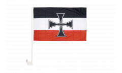 Autofahne Deutsches Reich Gösch-Naval Jack 1871-1919 - 30 x 40 cm