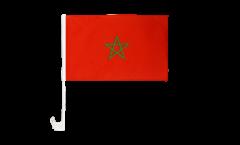 Autofahne Marokko - 30 x 40 cm