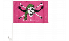 Autofahne Pirat Pirate Princess Prinzessin - 30 x 40 cm