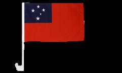 Autofahne Samoa - 30 x 40 cm