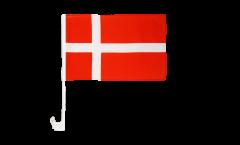 Autofahne Dänemark - 30 x 40 cm