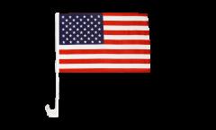Autofahne USA - 30 x 40 cm