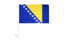 Autofahne Bosnien-Herzegowina - 30 x 40 cm