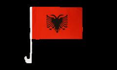 Autofahne Albanien - 30 x 40 cm