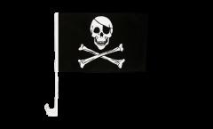 Autofahne Pirat - 30 x 40 cm