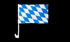 Autofahne Deutschland Bayern ohne Wappen - 30 x 40 cm