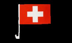 Autofahne Schweiz - 30 x 40 cm