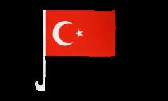 Autofahne Türkei - 30 x 40 cm