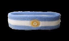 Stirnband Argentinien mit Sonne - 6 x 21 cm