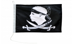 Bootsfahne Pirat Korsika - 30 x 40 cm