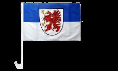 Autofahne Deutschland Vorpommern - 30 x 40 cm
