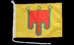 Bootsfahne Frankreich Auvergne - 30 x 40 cm
