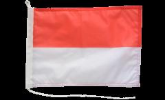 Bootsfahne Indonesien - 30 x 40 cm