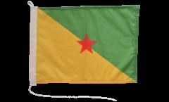 Bootsfahne Frankreich Französisch Guayana - 30 x 40 cm