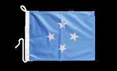 Bootsfahne Mikronesien - 30 x 40 cm