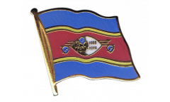 Flaggen-Pin Swasiland - 2 x 2 cm