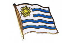 Flaggen-Pin Uruguay - 2 x 2 cm