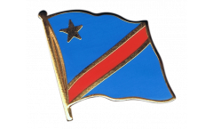 Flaggen-Pin Demokratische Republik Kongo - 2 x 2 cm