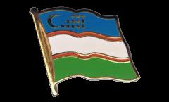 Flaggen-Pin Usbekistan - 2 x 2 cm