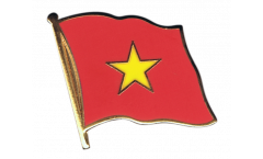 Flaggen-Pin Vietnam - 2 x 2 cm