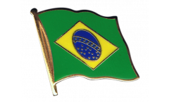 Flaggen-Pin Brasilien - 2 x 2 cm