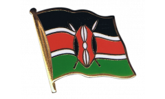Flaggen-Pin Kenia - 2 x 2 cm