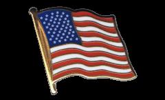 Flaggen-Pin USA - 2 x 2 cm