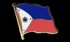 Flaggen-Pin Philippinen - 2 x 2 cm