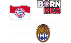 Pin FC Bayern München - 3 er Set