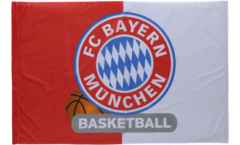 Flagge FC Bayern München Basketball - 100 x 150 cm