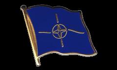 Flaggen-Pin NATO - 2 x 2 cm
