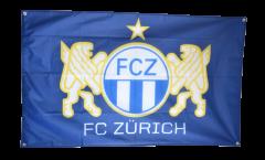 Zimmerflagge FC Zürich - 90 x 140 cm