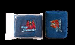 Schweißband Phoenix Hagen Blau, 2er Set 8 x 10 cm
